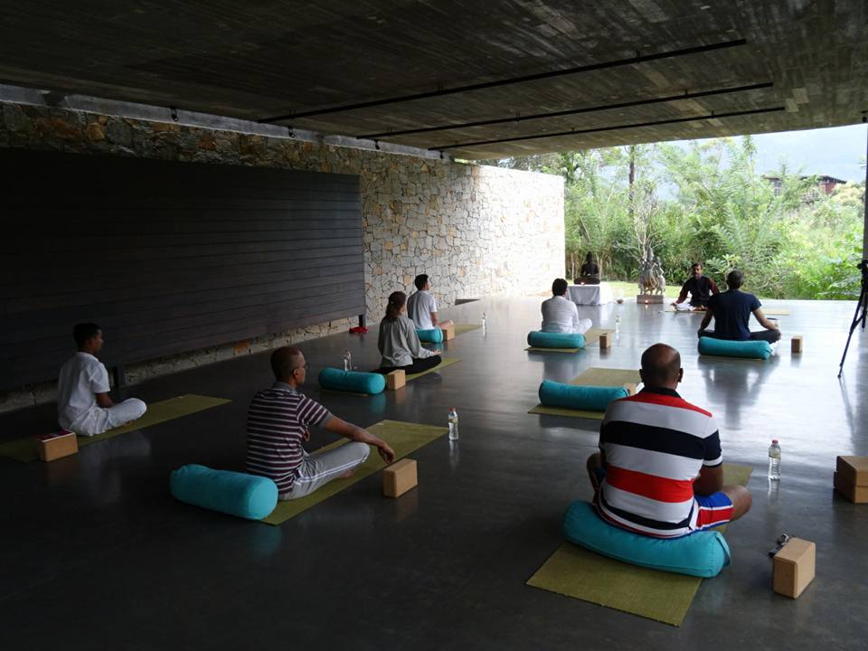 Personalized Yoga Sessiona at Santani Wellness Resort